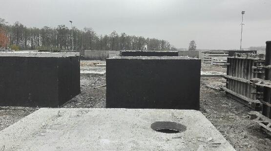 Szamba betonowe 4000 litrów 4m3