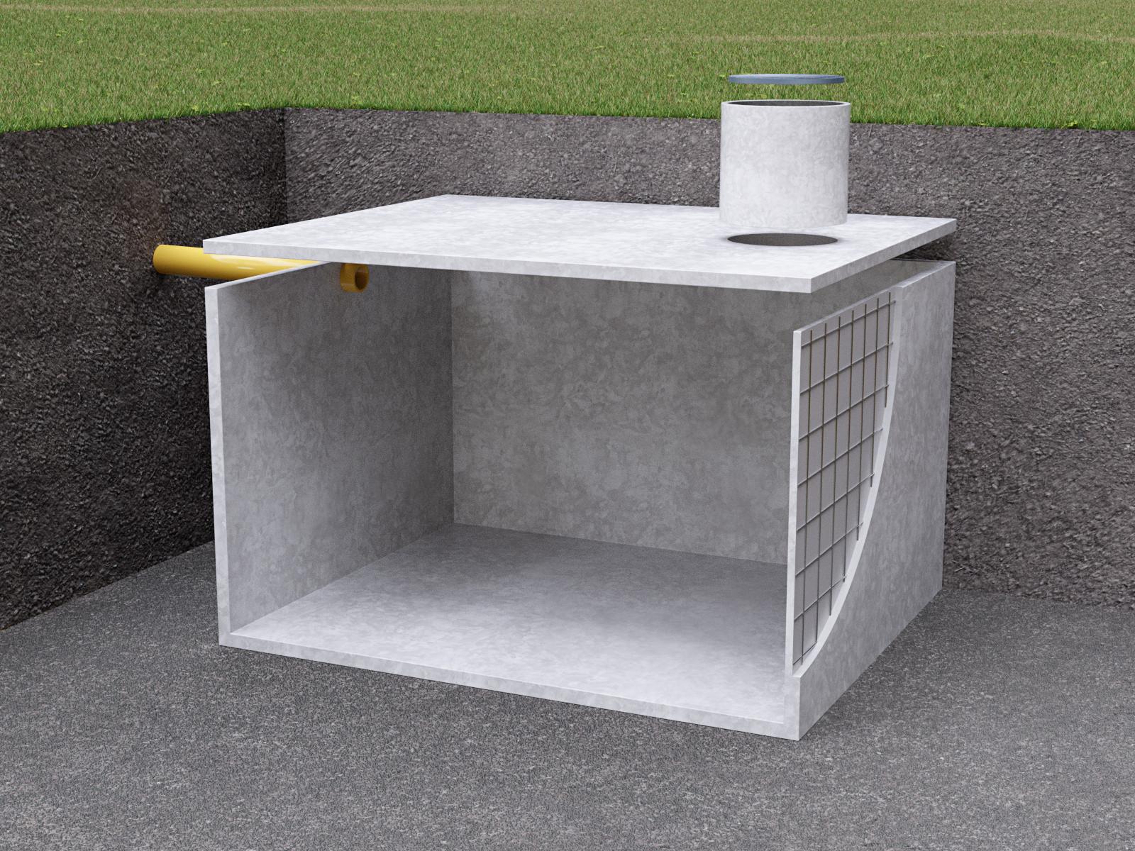 Szamba betonowe 12000 litrów 12m3